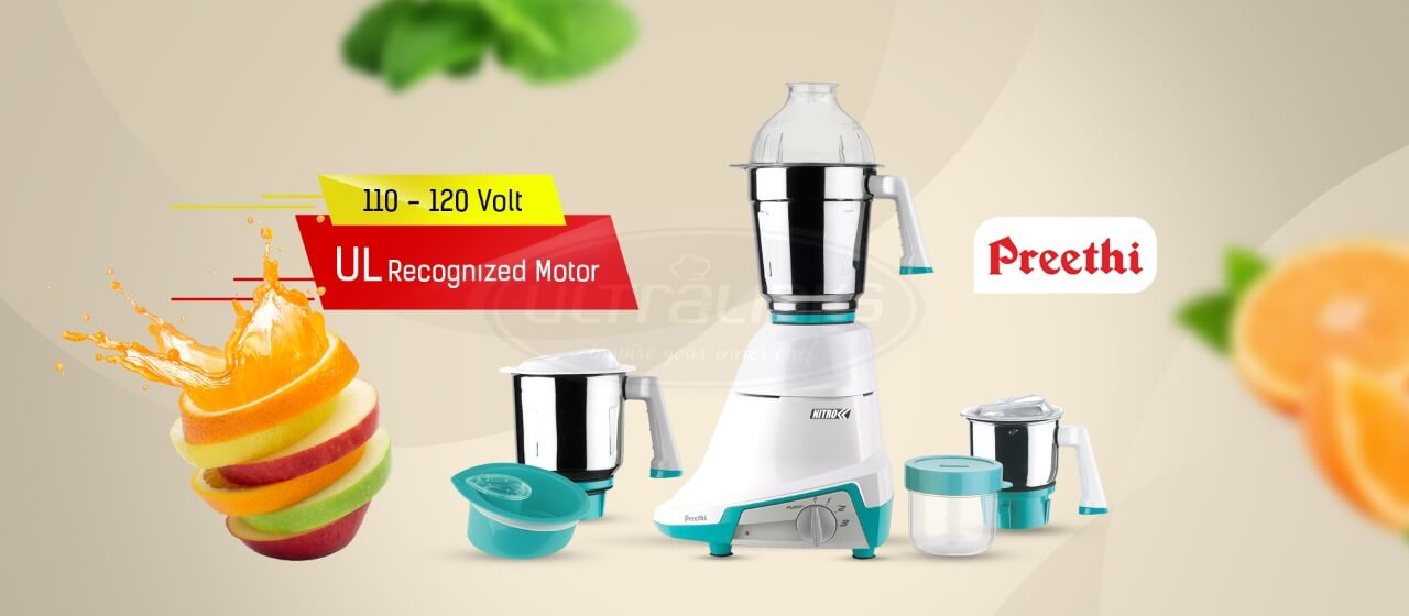 Best Indian Grinders and Cookwares - Ultra kitchen appliances