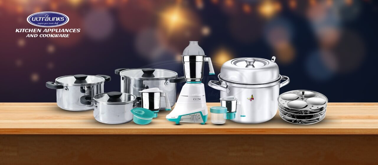Indian Grinders and Cookwares - Ultra kitchen appliances