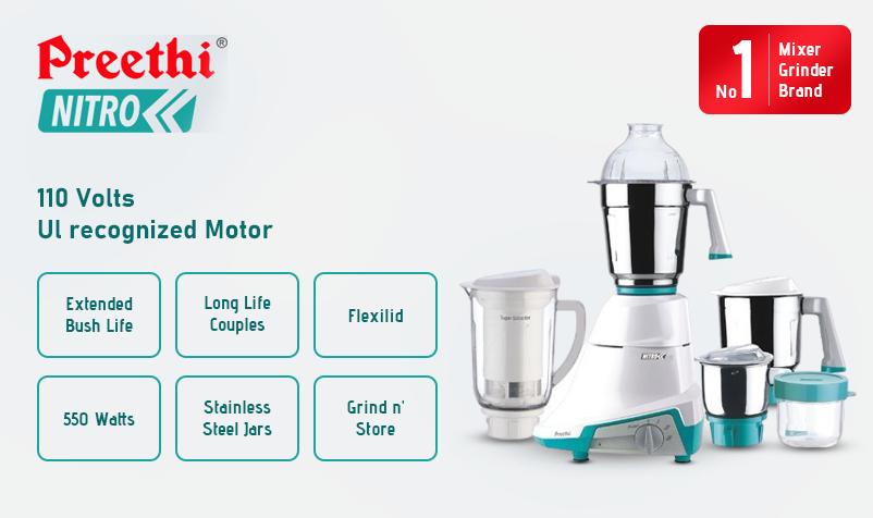 Preethi Kitchen appliances - Ultra Kitchen appliances