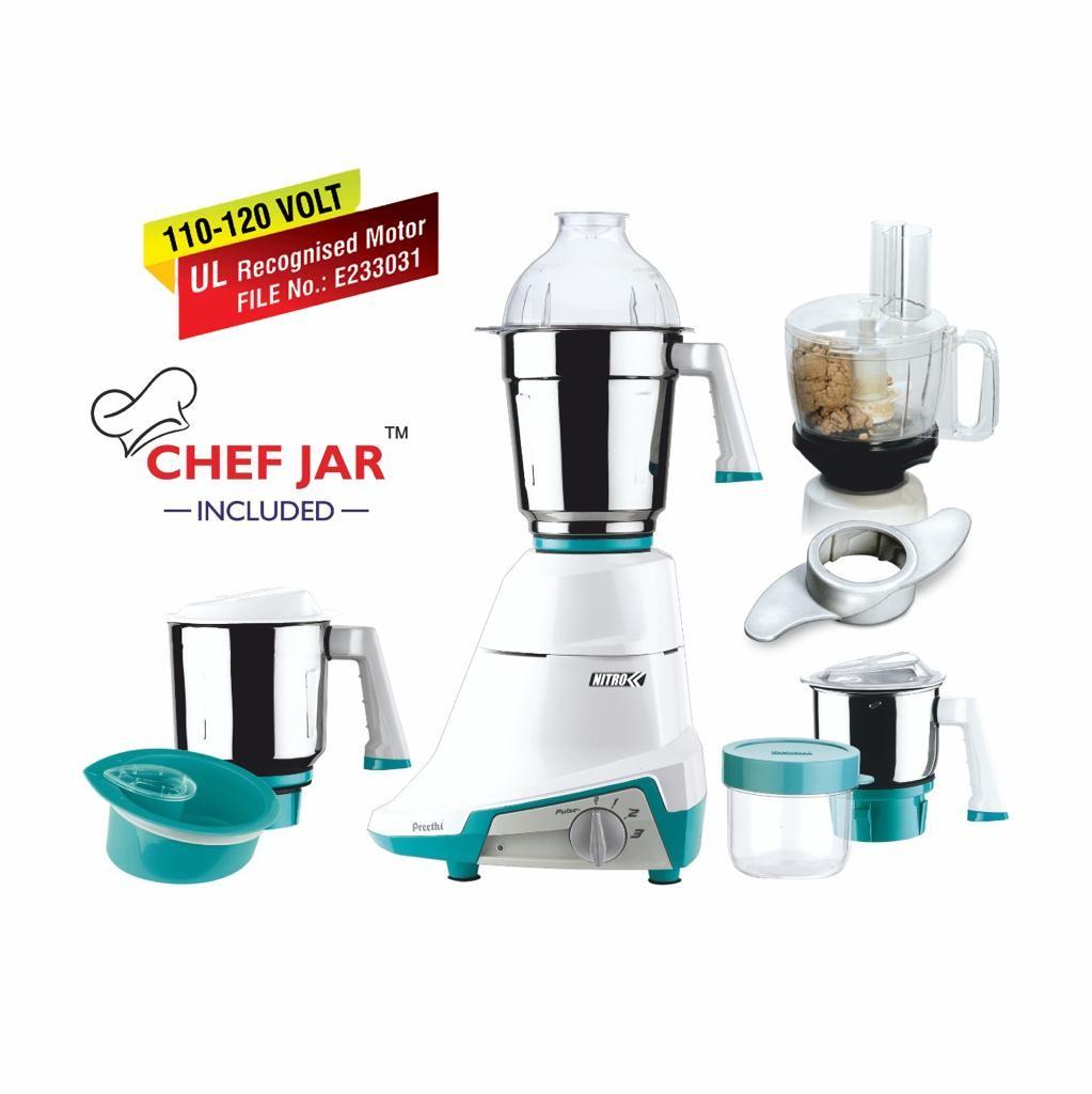preethi-nitro-3-jar-mixer-grinder-110-volt-with-chef-jar-included